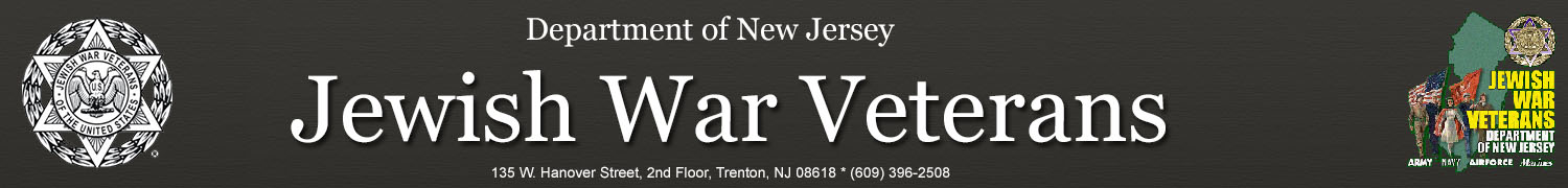 Jewish War Veterans Department of NJ